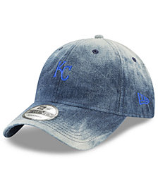 New Era Kansas City Royals Denim Wash Out 9TWENTY Cap