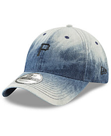 New Era Pittsburgh Pirates Denim Wash Out 9TWENTY Cap