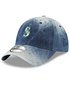 New Era Seattle Mariners Denim Wash Out 9TWENTY Cap