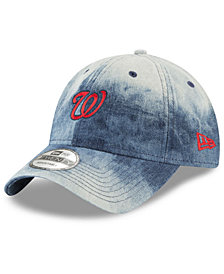 New Era Washington Nationals Denim Wash Out 9TWENTY Cap
