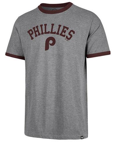 '47 Brand Men's Philadelphia Phillies Capital Ringer T-Shirt