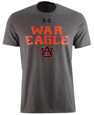 Under Armour Men's Auburn Tigers College Classic Charged Cotton T-Shirt