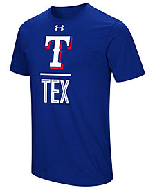 Under Armour Men's Texas Rangers Performance Slash T-Shirt