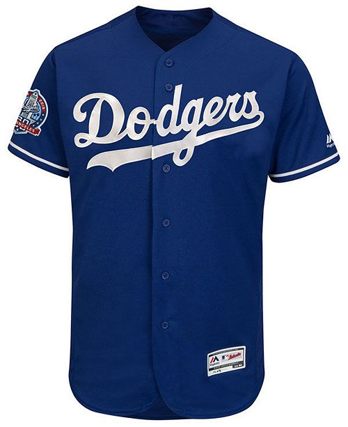... Men s Los Angeles Dodgers Flexbase 60th Anniversary Patch Jersey ... 79656e1af5a