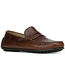 Donald Pliner Men's Sander Penny Moc-Toe Drivers