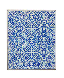 "Harbor House Mosaic Tile Circa 16"" x 20"" Crushed Glass Wall Art"