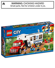 LEGO® City Pickup & Caravan 60182