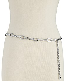 INC Metal Chain Belt, Created for Macy's