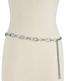 I.N.C. Metal Chain Belt, Created for Macy's