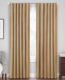 Hudson Hill Velvet Rod Pocket/Tab Top Window Panels
