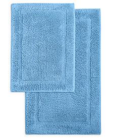Martha Stewart Essentials Spa Cotton 2-Pc. Bath Rug Set, Created for Macy's