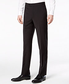 Calvin Klein Men's Slim-Fit Infinite Stretch Black Tuxedo Suit Pants