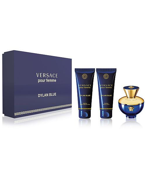 Versace 3-Pc. Dylan Blue Pour Femme Gift Set - All Perfume - Beauty ... 6bcdf8ea149