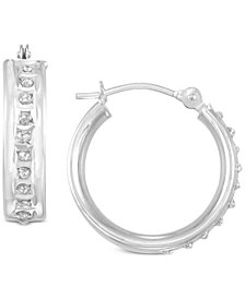 Diamond Fascination™ Diamond Accent Hoop Earrings