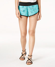 Hurley Juniors' Phantom Beach Rider Printed Shorts