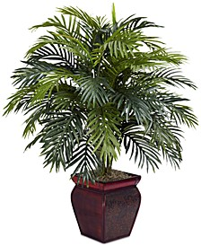 Areca Palm Plant with Decorative Planter