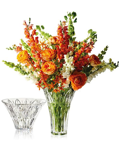 Waterford Westbridge Vase - Bowls & Vases - Macy's on macy clothing, macy dishes, macy purses, macy furniture, macy curtains, macy shoes,
