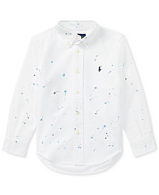 Polo Ralph Lauren Graphic Cotton Shirt, Toddler Boys