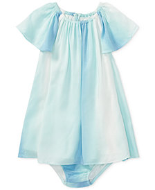 Polo Ralph Lauren Flutter-Sleeve Dress, Baby Girls
