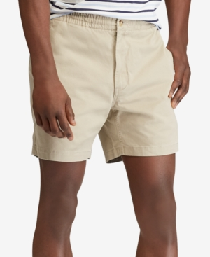 Vintage Style Mens Shorts Polo Ralph Lauren Mens Classic Fit Stretch Prepster 6 Shorts $75.00 AT vintagedancer.com