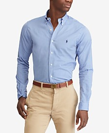 Polo Ralph Lauren Men's Slim Fit Poplin Stretch Shirt