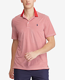 Polo Ralph Lauren Men's Striped Active Fit Performance Polo
