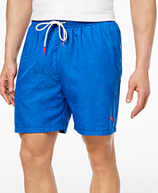 Tommy Bahama Men's Naples Midnight Monstera 6'' Swim Trunks