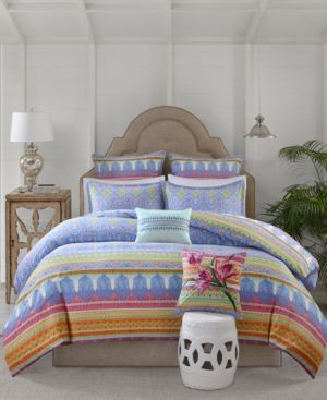 Echo Sofia Cotton 3-Pc. Full/Queen Comforter Set Bedding 5740613