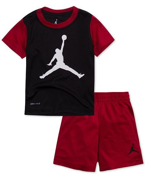 001c2786e730 Jordan 2-Pc. Jumpman T-Shirt   Shorts Set