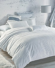 PURE Eyelet Voile Duvet Covers