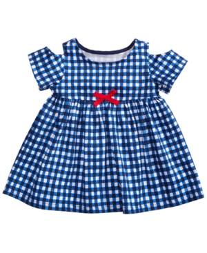 First Impressions Gingham Cotton Top Baby Girls Created for Macys