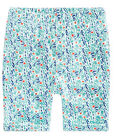 First Impressions Printed Bermuda Shorts, Baby Girls, Created for Macy's
