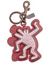 COACH Keith Haring Dancing Dog Bag Charm