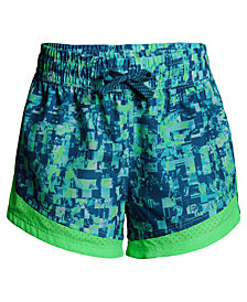 Under Armour Printed Sprint Shorts, Big Girls