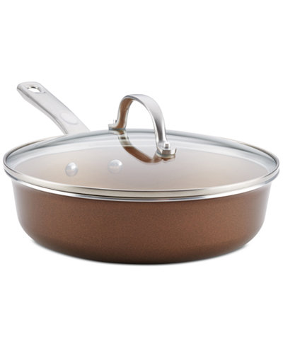 Ayesha Curry Home Collection 3-Qt. Sauté Pan & Lid