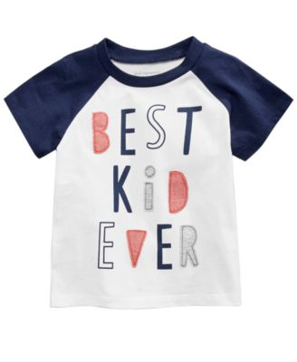 Best Kid-Print Cotton T-Shirt, Baby Boys, Created for Macy's