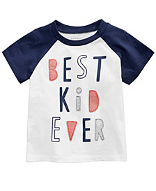 First Impressions Best Kid-Print Cotton T-Shirt, Baby Boys, Created for Macy's
