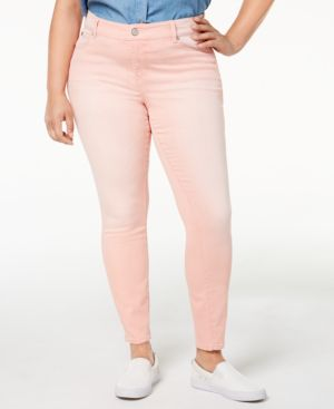 Celebrity Pink Trendy Plus Size Colored Skinny Jeans 4765946