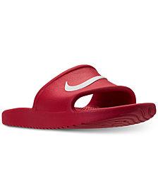 Nike Men's Kawa Shower Slide Sandals from Finish Line