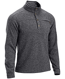 EMS® Men's Roundtrip 1/4-Button Pullover Fleece