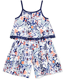 Disney Popover Moana Romper, Little Girls