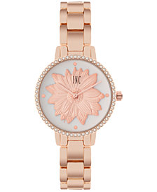 I.N.C. Women's Rose Gold-Tone Bracelet Watch 32mm, Created for Macy's