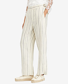 Polo Ralph Lauren Striped Wide-Leg Pants