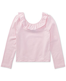 Polo Ralph Lauren Off-The-Shoulder Top, Little Girls