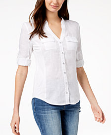 I.N.C. Utility Shirt, Created for Macy's