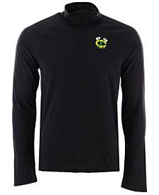 Men's Chicago Blackhawks Secondary Logo Climatelite Quarter-Zip Pullover