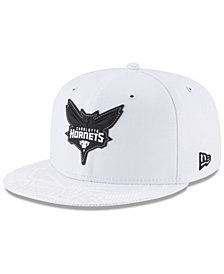 New Era Charlotte Hornets Back 1/2 Series 9FIFTY Snapback Cap