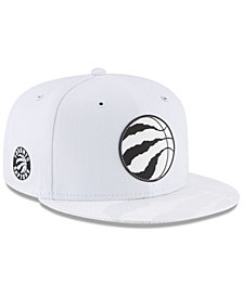 New Era Toronto Raptors Back 1/2 Series 9FIFTY Snapback Cap