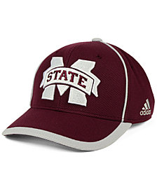 adidas Mississippi State Bulldogs Piping Hot Adjustable Cap