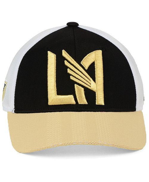 new style c4889 c36ee ... spain adidas los angeles football club authentic mesh adjustable cap  sports fan shop by lids men